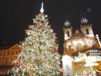 В Прагу на поезде на Новый год
